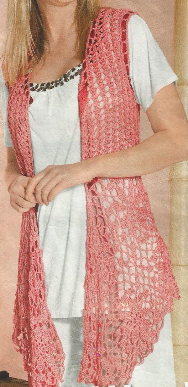 vesta crosetata lunga