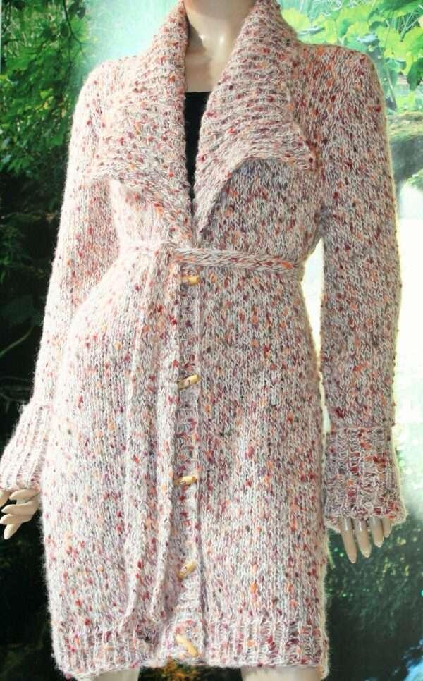 cardigan de dama tricotat manual tutorial cu poze si explicatii pas cu pas