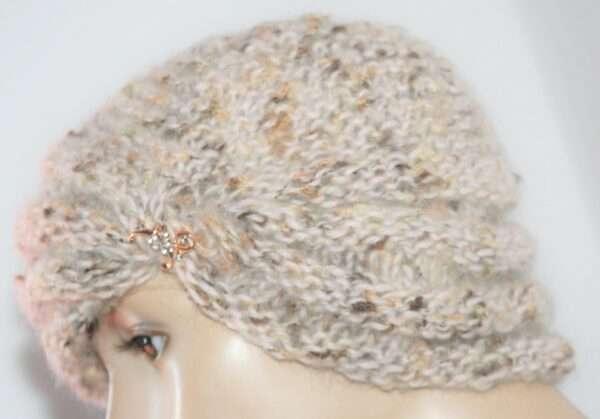 turban tricotat de dama tutorial