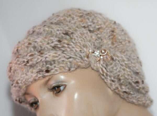 turban tricotat tutorial